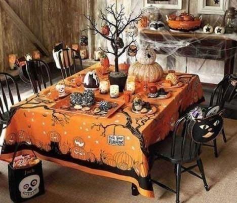 Festa di Halloween casa fai da te decorazioni