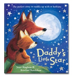 Daddy's Little Star by Janet Bingham published by Scholastic UK. Narrated for Me Books by Mike Wozniak.