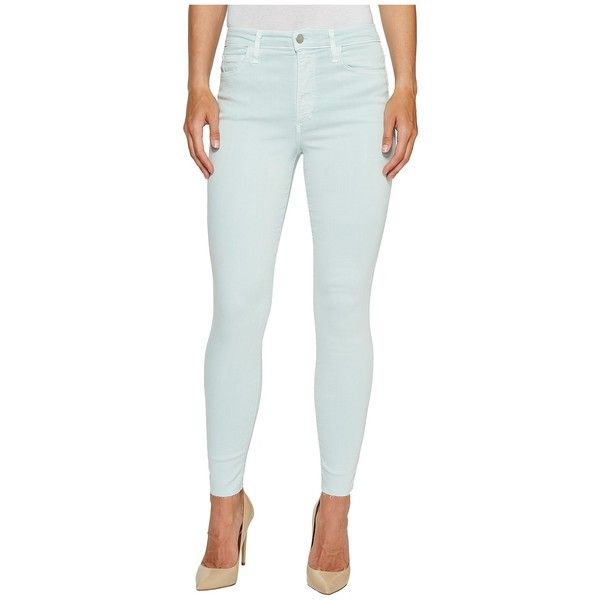 Joe's Jeans Charlie Ankle in Aquarius (Aquarius) Women's Jeans ($168) ❤ liked on Polyvore featuring jeans, white skinny leg jeans, mid rise skinny jeans, light wash skinny jeans, zip jeans and skinny leg jeans