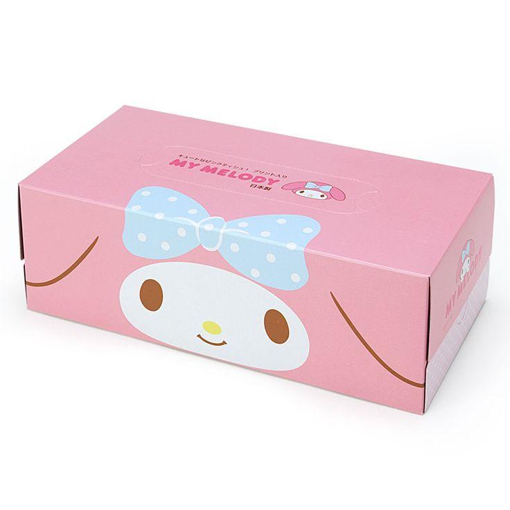 #MyMelody facial tissue (*^▽^*) サンリオオンラインショップ / マイメロディ ティシュペーパー 10箱セット
