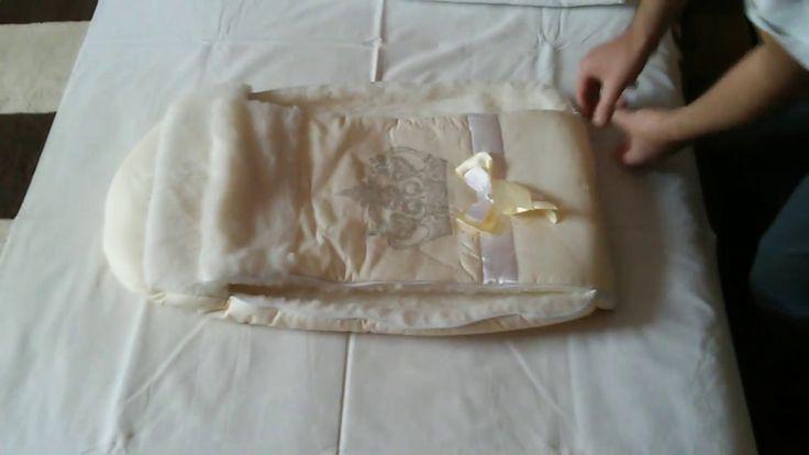 Зимний комплект на выписку из роддома на овчине