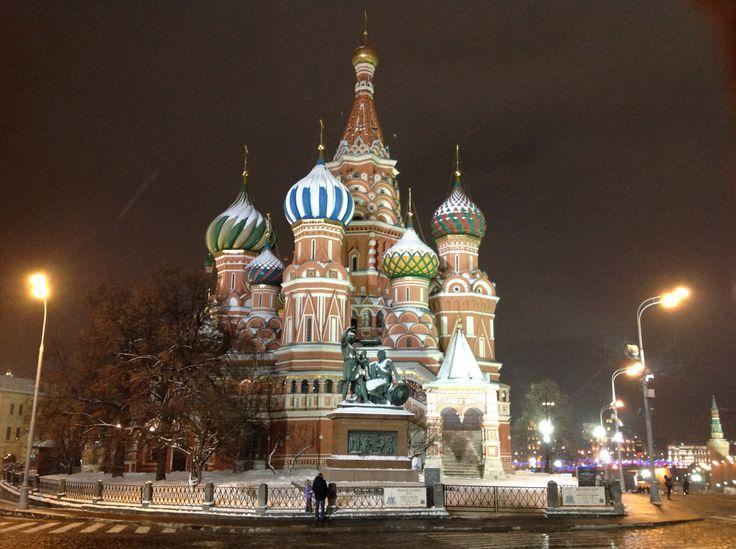 Saint Basil's Cathedral, Kremlin