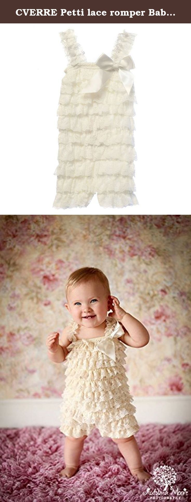 CVERRE Petti lace romper Baby Toddler Girls Layered Lace Ruffle Petti Romper (L ( 12 to 18 months ), White). CVERRE Petti lace romper Baby Toddler Girls Layered Lace Ruffle Petti Romper Sizes: Small fits 0-6 months Medium fits 6-12 months Large fits 12 -18 months.