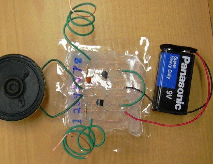 Make An Electronic Lie Detector Sort Of