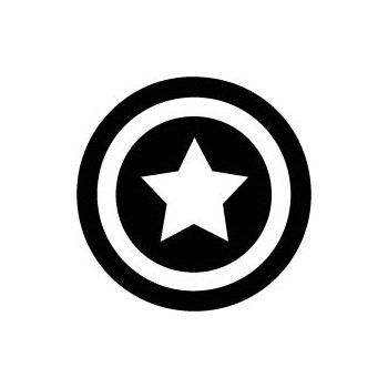 Captain America Logo - Avengers Vinyl Decal - Multiple Colors via Etsy