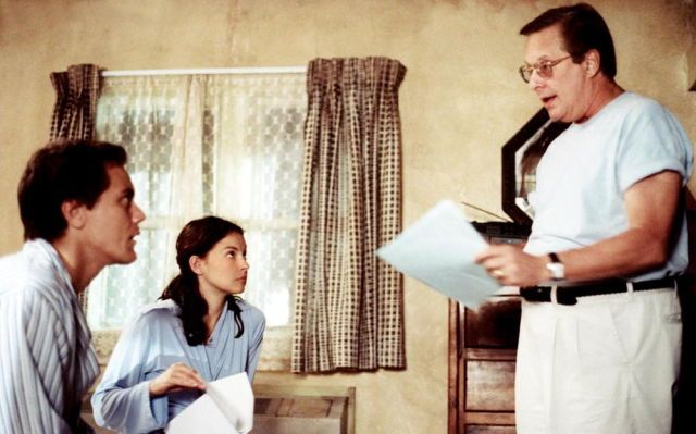 Michael Shannon, Ashley Judd and William Friedkin on-set of Bug (2006)