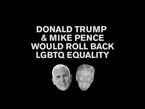 Vote for Hillary Clinton - Pinterest Campaign for #Hillary2016 - (Chad Griffin: .@realDonaldTrump and @mike_pence are a threat to all LGBTQ people have fought for. Now more than ever #ImWithHer https://youtu.be/W0gl7ogPXqg) has just been shared on News|Info|Issues|Views|Polls|Donate|Shop for #Hillary2016 #Vote4Hillary #ImWithHer Fans Communities @ViaGuru Politics