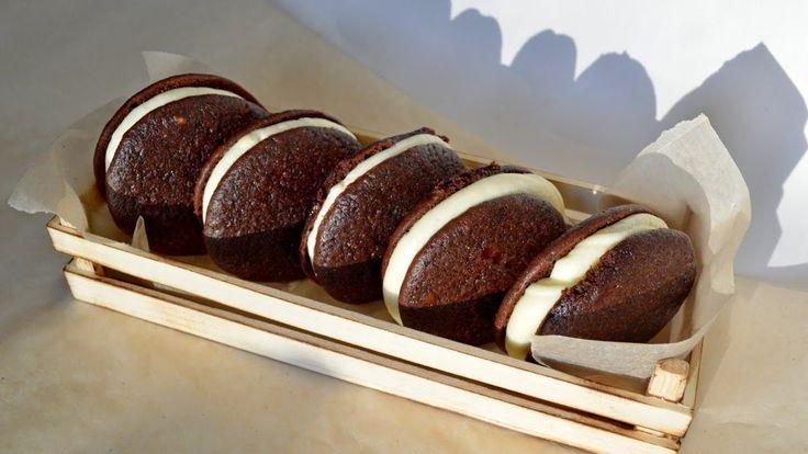 ПЕЧЕНЬЕ. Вупи Пай. Бисквитное печенье. Рецепт печенья с начинкой.