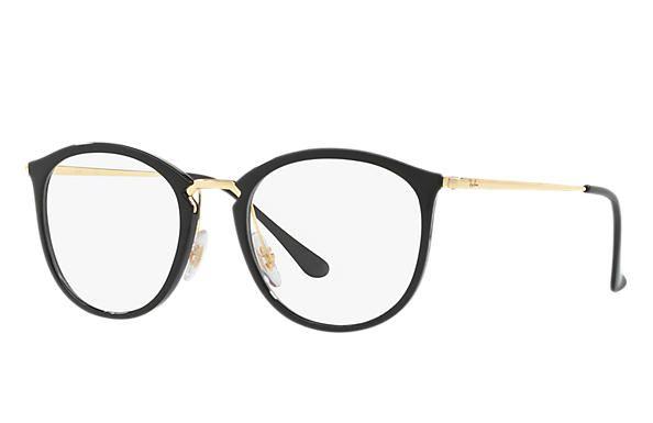 Ray Ban 0rx7140 Rb7140 Black Gold Optical Okulary Moda