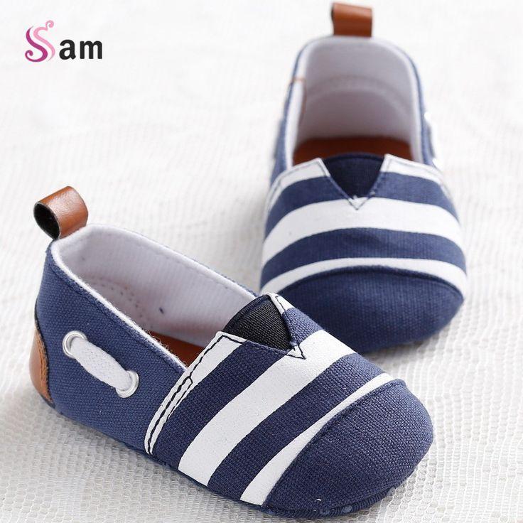 Toddler bébé nouveau-né pré-marcheurs anti-dérapant berceau chaussures bleu couleur TdO79TIDZ