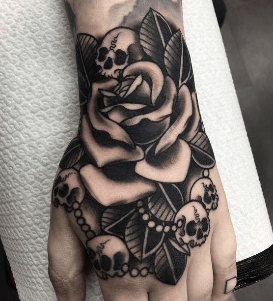 {Latest} Hand-Tattoo-Designs für Männer und Frauen 2018