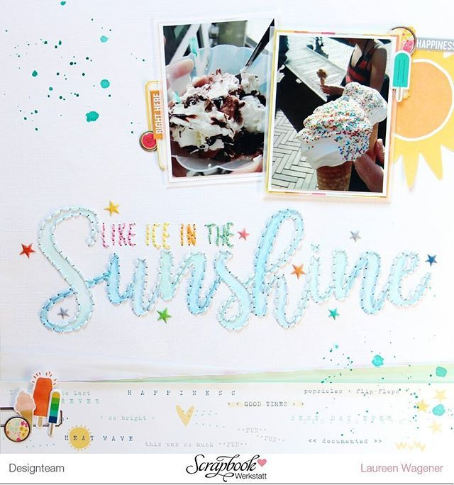 """Like ice in the sunshine 