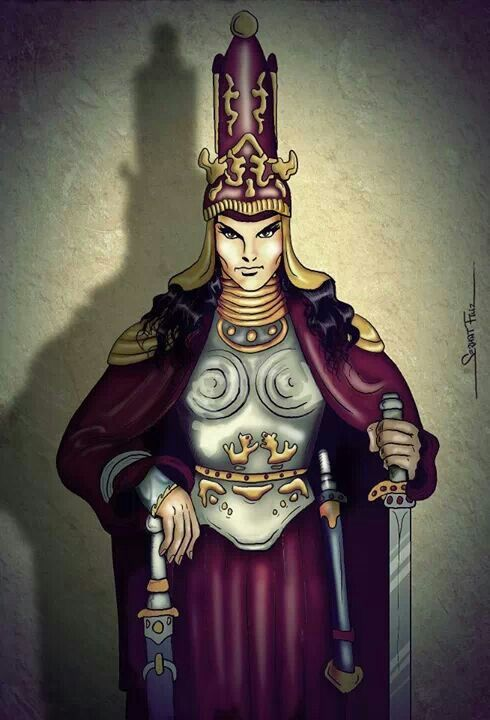 Tomyris The queen