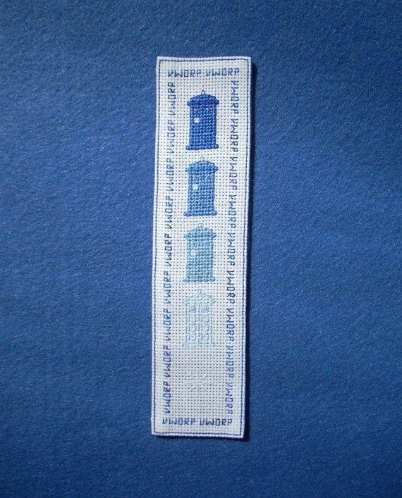 Dr Who cross stitch patterns