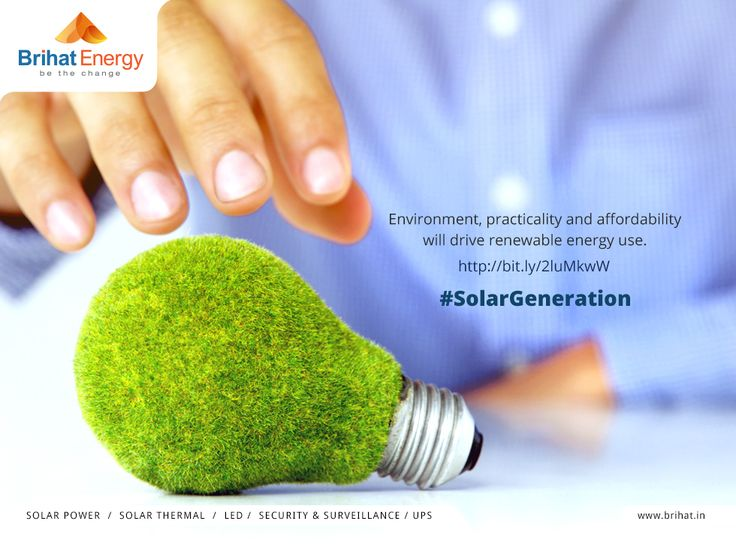 Environment, practicality and affordability will drive renewable energy use. http://bit.ly/2luMkwW #SolarGeneration  Visit: goo.gl/q6ECB2
