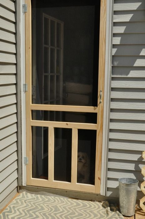 Surface Hinge Mount Screen Door From Lowe S Diy In 2019