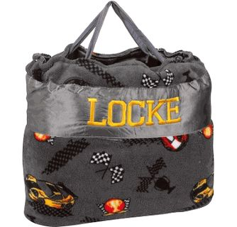 Race Cars Nap Bag with Personalized Option