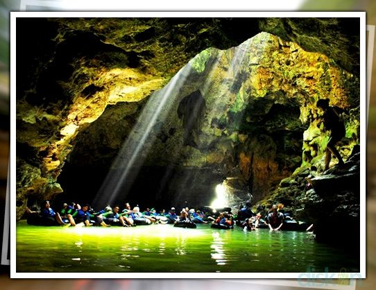 """Feel the sensation of an adventure in the river inside a cave using a lifebelt, of exploring its dark ambience in the surrounding stalactite and stalagmite. During the trip, you will also see and learn how to make hand arts like ceramics, batik and lurik (traditional clothes of java) in Klaten my small town we have lurik as special product and the excellent thing that we made traditional dance of lurik name """"tari lurik asri"""". On top of that, enjoy the local foods of Soto and kari ayam, a…"""
