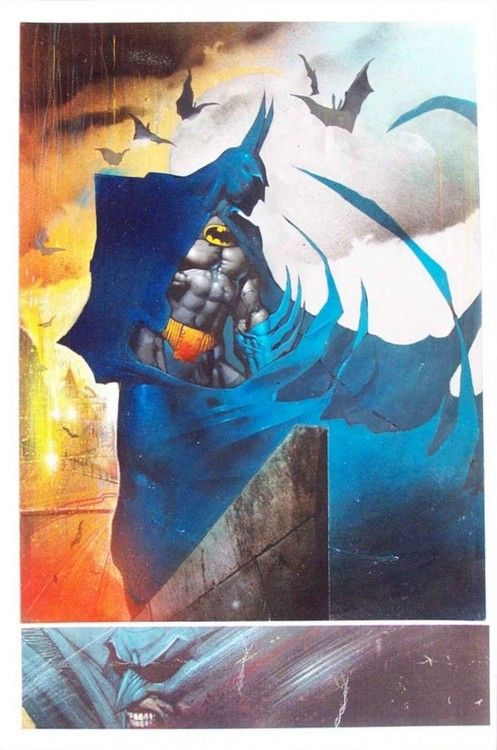 Batman by Simon Bisley