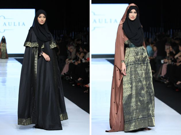 JFW 2014: Syar'i Gowns Look Fabulous On Stage - Female Daily jakarta fashion week 2014 fitri aulia