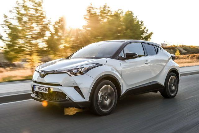Toyota C-HR: arriva il cambio manuale sul 1.2