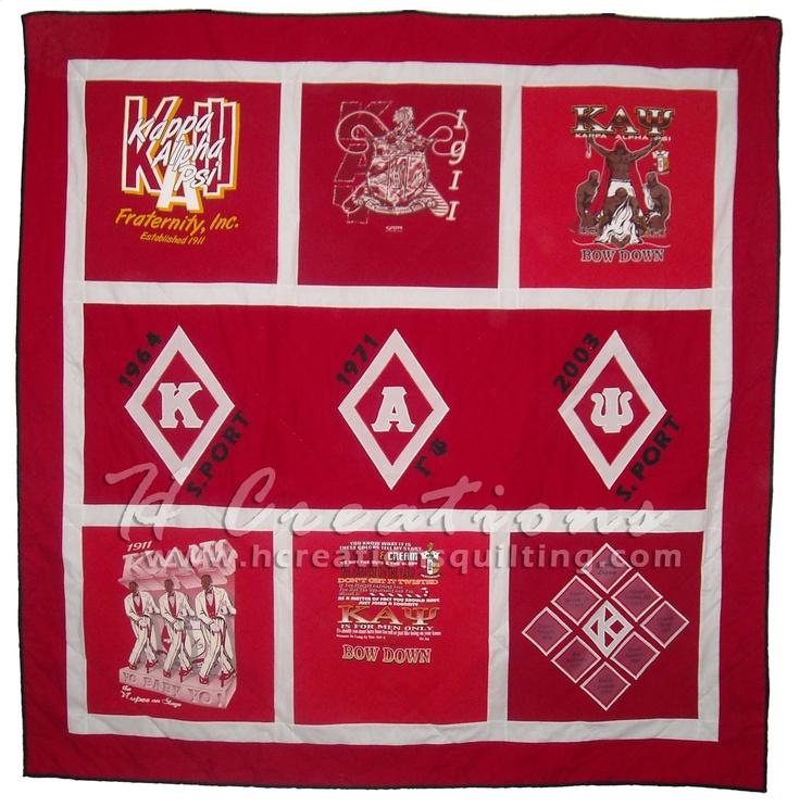 Kappa Alpha Psi quilt
