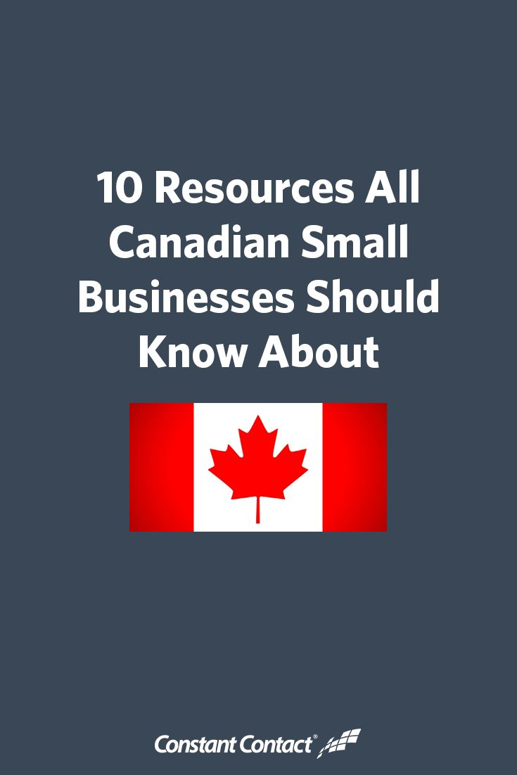 If you own a small business in Canada, you're fortunate to have access to a number of people and organizations that are committed to your success.  To celebrate Small Business Month, we compiled some of these resources with information about how they can help with your success. Whether you're looking for help with funding, need advice for growing your business, or want to become a better marketer — these resources can help.