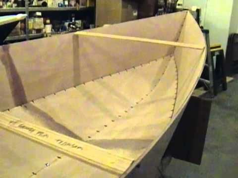 Tango skiff xl stitch and glue okoume wooden boat how to for Plywood fishing boat plans
