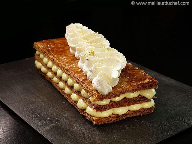 Vanilla Millefeuille - Meilleur du Chef