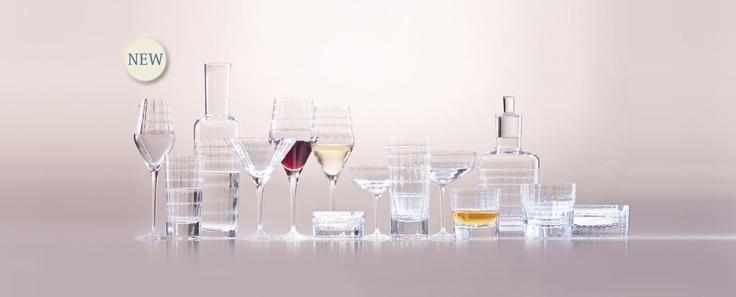 Hommage Carat - broušená kolekce sklenic, vyrobená se spolupráci s barmanem Charlesem Schumannem