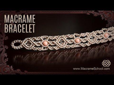 Macrame Bracelets from macramé school. 100's of patterns here.