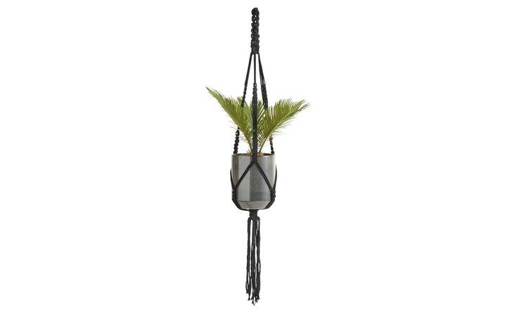 Macrame Hängeblumentopf von BoConcept   #boconcept #accessories #scandinaviandesign #interiordesign #living #homedecor #design