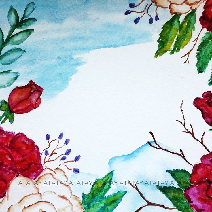 background watercolor #by_atatay