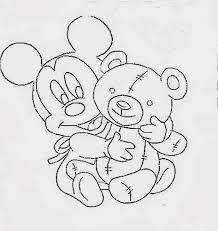 pintura em fraldas de bebe riscos do mickey baby - Pesquisa Google