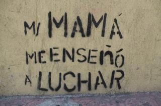 verdad. Some of my strongest feminista role models would not themselves claim this title. But nonetheless.
