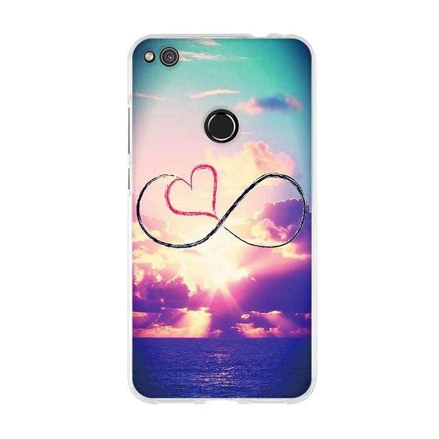 For Funda Huawei P8 Lite 2017 Honor 8 Lite P9 Lite 2017 Case Silicon Soft Tpu Cover For Huawei P8 Lite 2017 Phone Case Co Phone Cases Phone Case Cover Case