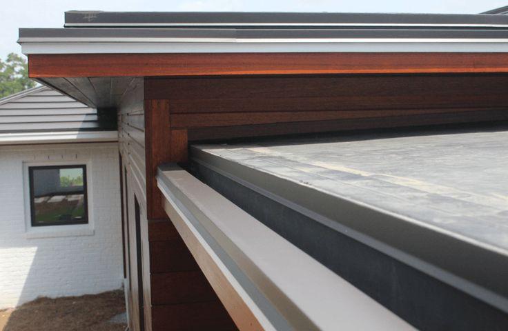 Hidden Gutter Detail Details In 2019 Flat Roof Flat