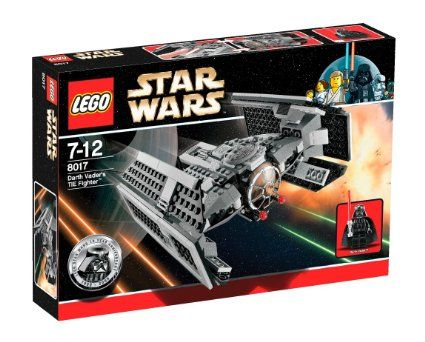 LEGO Star Wars 8017 Darth Vader's TIE Fighter: Amazon.co.uk: Toys & Games