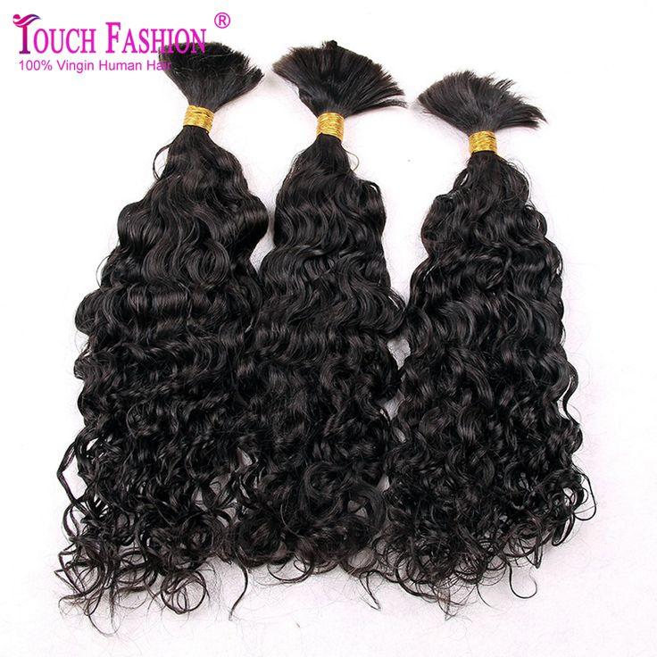 3pcs Lot Virgin Brazilian Curly Bulk Hair For Braiding 100% Unprocessed Human Bulk Hair Extensions Bulk No Attachment //Price: $US $112.72 & FREE Shipping //   http://humanhairemporium.com/products/3pcs-lot-virgin-brazilian-curly-bulk-hair-for-braiding-100-unprocessed-human-bulk-hair-extensions-bulk-no-attachment/  #hair_weaves