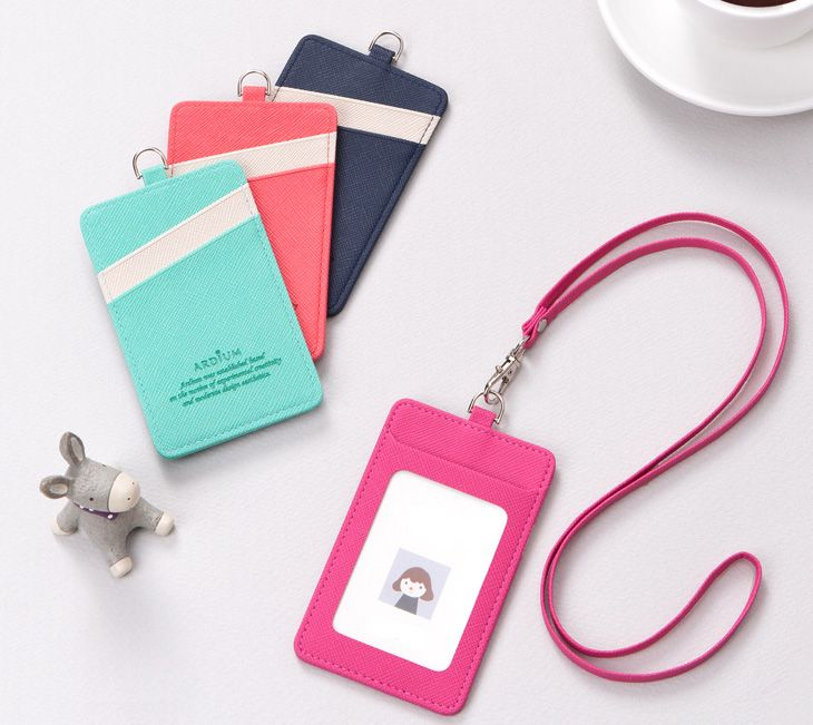 Details About Name Badge Clear Id Card Holder Lanyard Pass