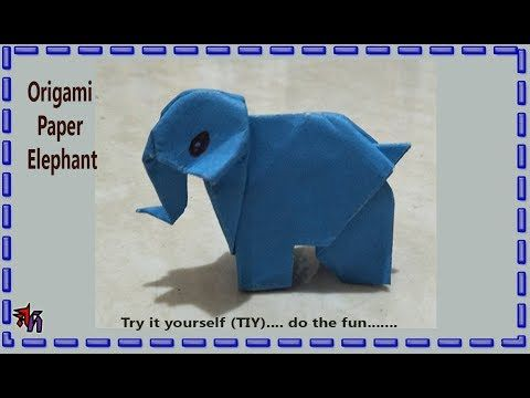 How to make paper elephant | Very easy paper elephant DIY by Art House