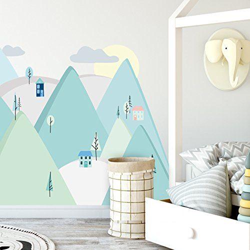 Affiliatelink Wandtattoo Wandaufkleber Bild Sticker Kinderzimmer
