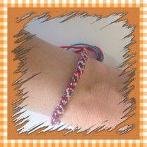 Koning(inne)armbandje ~ www.knutselboom.nl