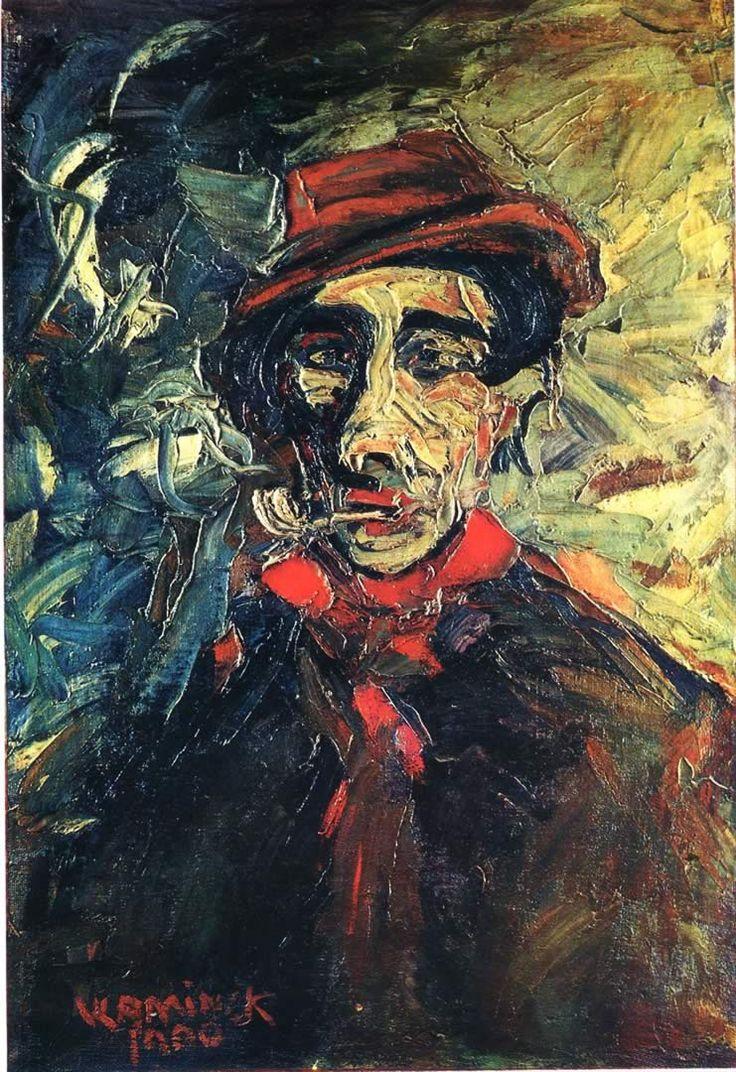 Maurice de Vlaminck ~ Man Smoking a Pipe, 1900