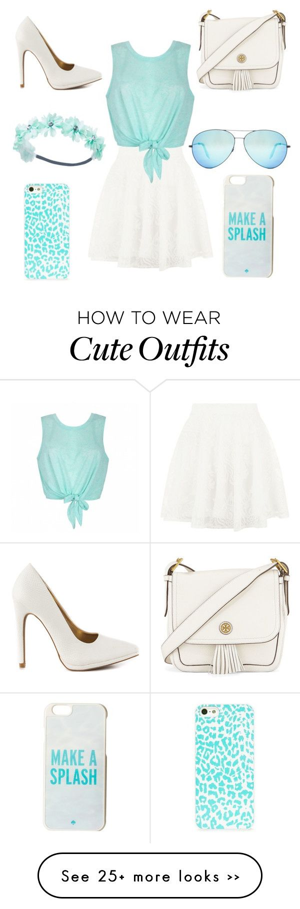 """Cute girly casual outfit"" by brighid-lamp on Polyvore"