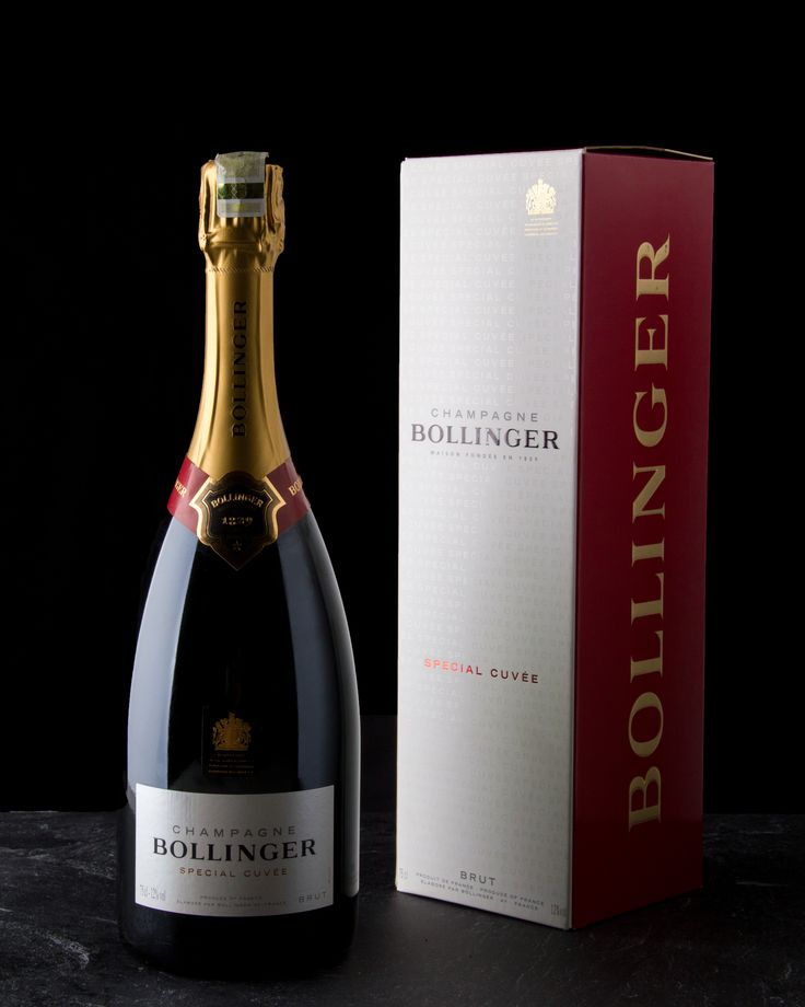 Bollinger Special Cuvee Champagne Photography for Wine Cellar Social Media