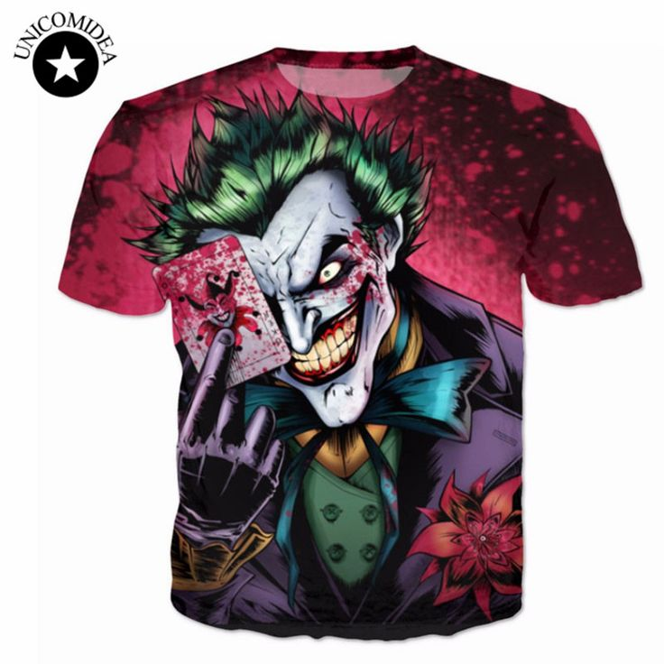 Joker 3D T-shirt //Price: $15.00 & FREE Shipping //     #batman #deadpool #marvelc #dc
