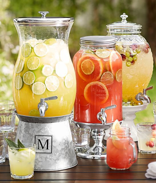 1000 Images About Drink Dispenser Recipes On Pinterest: Perfect Party-sized Glass Urn Container To Fill With