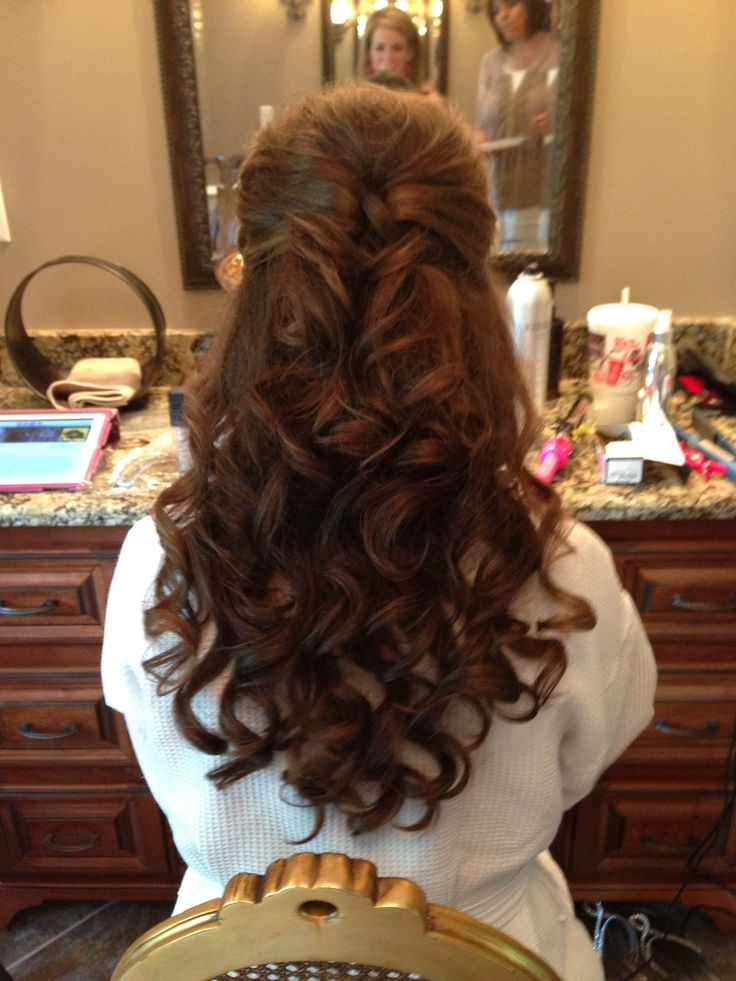 40 Wedding Hairstyles For Long Hair That Really Inspire: Best 20+ Half Up Wedding Ideas On Pinterest