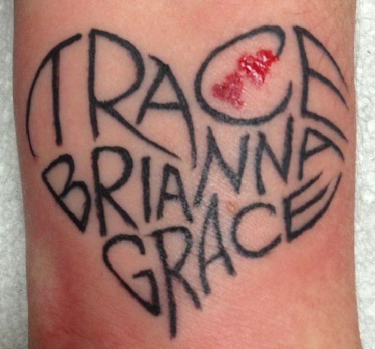 Wrist Tattoos With Children S Names Tattoos Tattoos Wrist